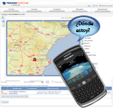 Localización Blackberry